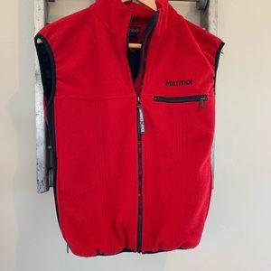 Marmot windstopper full zip vest